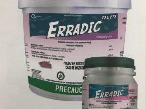 Erradic pellets Presentación  1 Kilo
