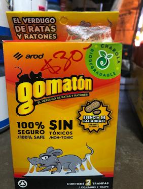 Gomaton ratón